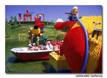 LEGOLAND theme park has interactive attractions, rides, restaurants and more than 15,000 LEGO models.